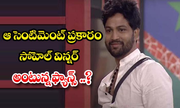 TeluguStop.com - Sohel Fans Create Buzz On Bigg Boss Show