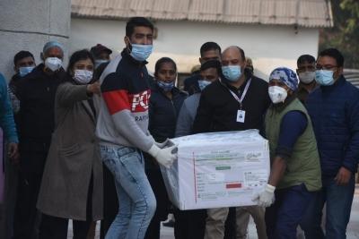TeluguStop.com - 2.64 Lakh Covid Vaccine Doses Reach Rajiv Gandhi Hospital In Delhi-Latest News English-Telugu Tollywood Photo Image