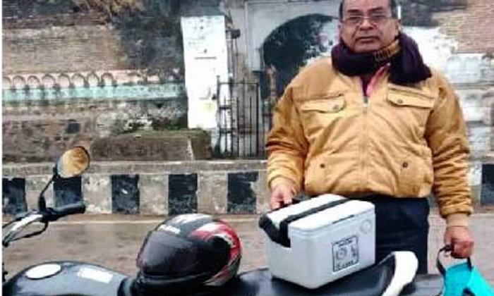 TeluguStop.com - కాకి నమూనాలతో బైక్ పై 350 కిలోమీటర్లు.. ఎందుకంటే-General-Telugu-Telugu Tollywood Photo Image