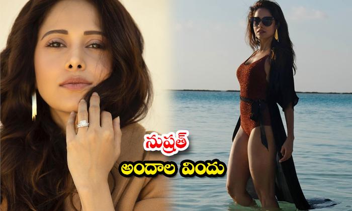 Actress Nushrratt Bharuccha hot clicks-నుష్రత్ అందాల విందు