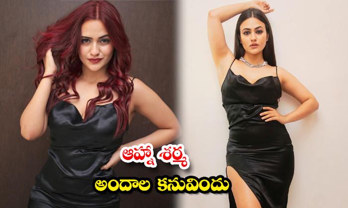 Bollywood stunning beauty Aahna Sharma amazing clicks-ఆహ్నాశర్మ అందాల కనువిందు