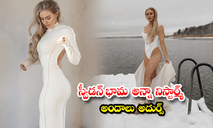 Fashionista anna nystrom hot and spicy images sweeping the internet-స్వీడన్ భామ అన్నా నిస్టార్మ్ అంద
