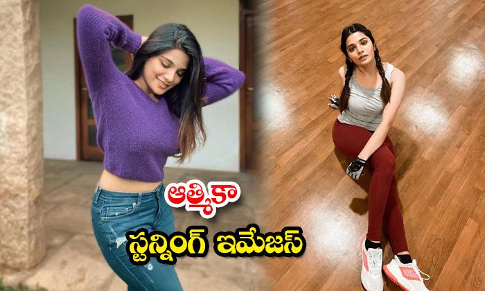 Glamorous actress Aathmika Latest images-ఆత్మికా స్టన్నింగ్ ఇమేజస్