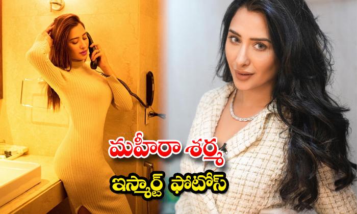 Pictures of Actress Mahira Sharma shake up the show social media-మహీరా శర్మ ఇస్మార్ట్ ఫొటోస్