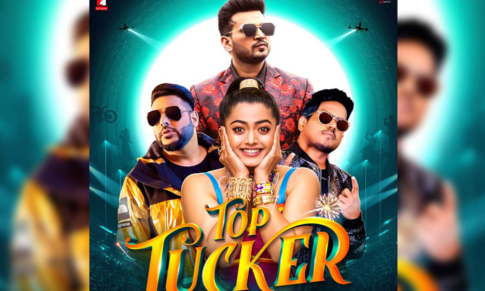 TeluguStop.com - First Look: Rashmika Joins Rapper Badshah For A Music Video-Latest News English-Telugu Tollywood Photo Image
