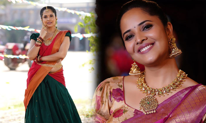 These glamorous pictures of ActressAnasuya Bharadwaj-అనసూయ వయ్యారాలు అదుర్స్