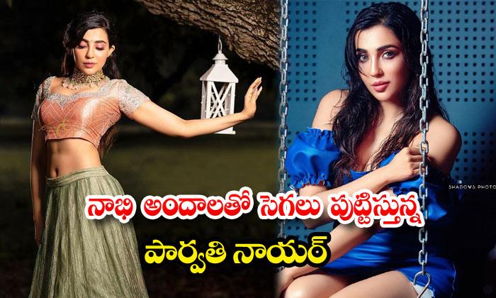 Tollywood actress Parvati Nair beautiful clicks-నాభి అందాలతో సెగలు పుట్టిస్తున్న పార్వతి నాయర్
