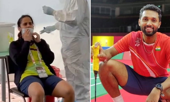 Telugu Badminton Players Saina Nehwal And Hs Prannoy Test Positive For Covid-19, Bangkok Hospital, Covid-19, P Kashyap, Quarantine, Saina Nehwal, Viral Post, Yonex Thailand Open 2021-Latest News - Telugu