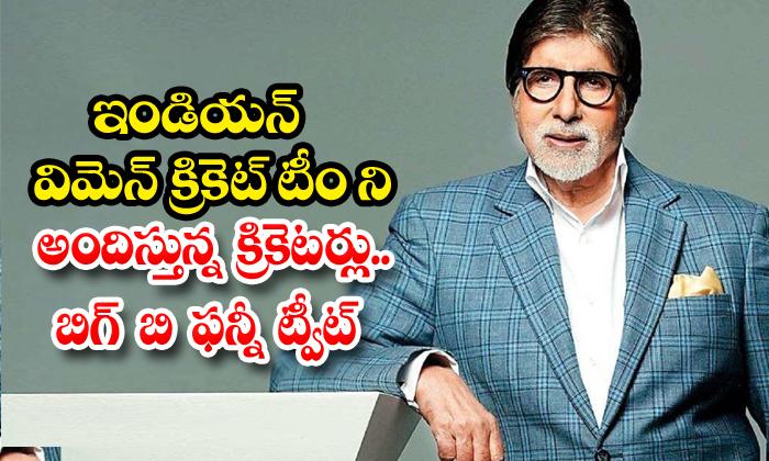 TeluguStop.com - Amitabh Bachchan Tweet On Indian Cricketers
