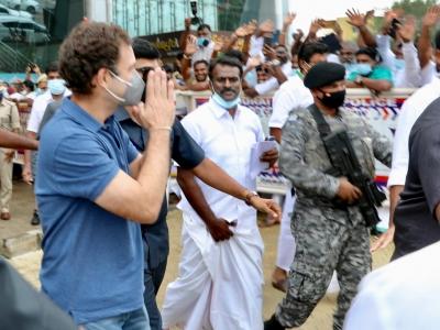 TeluguStop.com - TN Politics Heats Up As Rahuls, Nadda Visit State On Pongal-Latest News English-Telugu Tollywood Photo Image